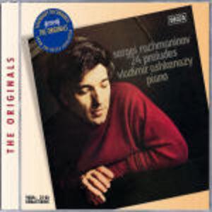 Foto Cover di Preludi, CD di Sergei Vasilevich Rachmaninov,Vladimir Ashkenazy, prodotto da Decca