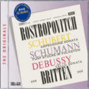 CD Sonata Arpeggione / 5 Stücke im Volkston op.102 / Sonata per violoncello e pianoforte Benjamin Britten Claude Debussy Franz Schubert