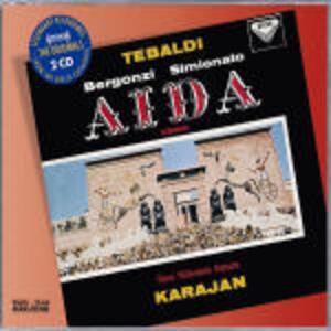 Aida - CD Audio di Giuseppe Verdi,Herbert Von Karajan,Carlo Bergonzi,Giulietta Simionato