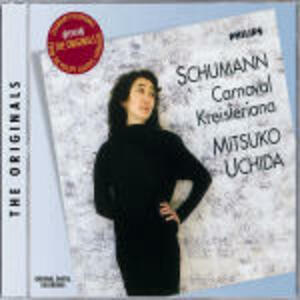 Carnival - Kreisleriana - CD Audio di Robert Schumann,Mitsuko Uchida