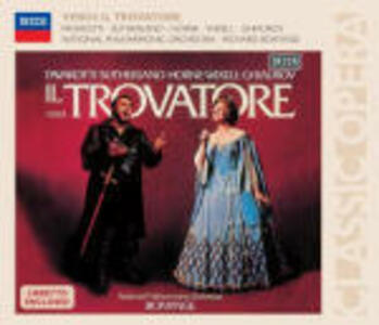 Il Trovatore - CD Audio di Luciano Pavarotti,Joan Sutherland,Giuseppe Verdi,Richard Bonynge,National Philharmonic Orchestra
