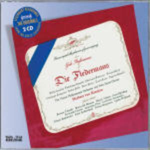 Il pipistrello (Die Fledermaus) - CD Audio di Johann Strauss,Herbert Von Karajan,Wiener Philharmoniker,Walter Berry,Hilde Güden,Waldemar Kmentt