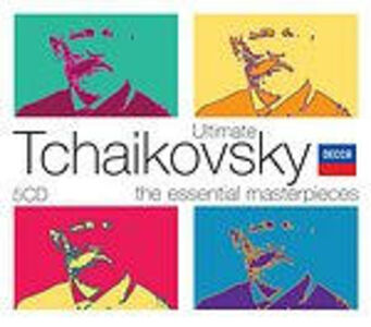 CD Ultimate Tchaikovsky. The Essential Masterpieces di Pyotr Il'yich Tchaikovsky