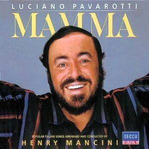Foto Cover di Mamma, CD di Luciano Pavarotti, prodotto da Decca