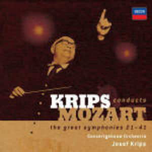 CD Sinfonie nn.21-41 di Wolfgang Amadeus Mozart
