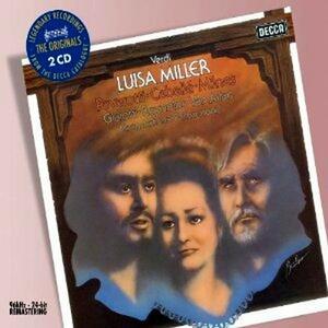 Luisa Miller - CD Audio di Montserrat Caballé,Luciano Pavarotti,Sherrill Milnes,Giuseppe Verdi,Peter Maag,National Philharmonic Orchestra