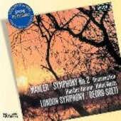 CD Sinfonia n.2 Gustav Mahler Georg Solti London Symphony Orchestra
