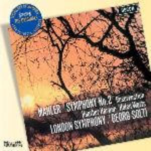 Sinfonia n.2 - CD Audio di Gustav Mahler,Georg Solti,London Symphony Orchestra,Heather Harper,Helen Watts