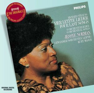 CD Vier Letzte Lieder - Lieder di Richard Strauss