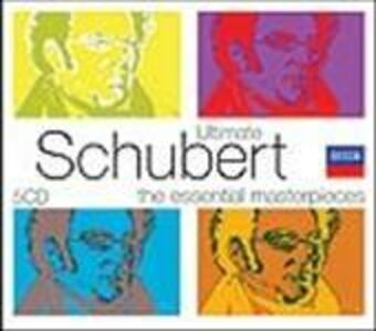 Foto Cover di Ultimate Schubert, CD di Franz Schubert, prodotto da Decca