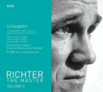 Foto Cover di Sonate per pianoforte n.18, n.9, n.15, CD di Franz Schubert,Sviatoslav Richter, prodotto da Philips
