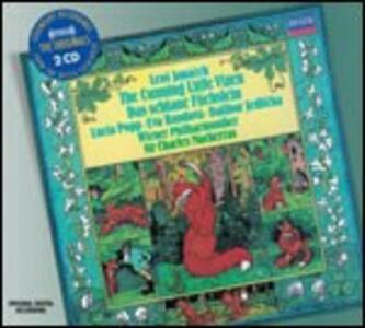 La piccola volpe astuta - CD Audio di Leos Janacek,Sir Charles Mackerras,Lucia Popp,Wiener Philharmoniker