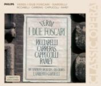 CD I due foscari di Giuseppe Verdi