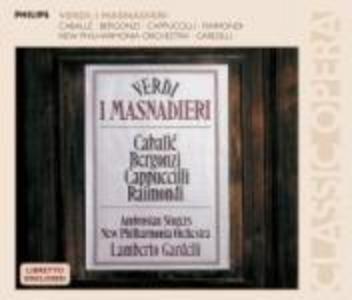 CD I Masnadieri di Giuseppe Verdi