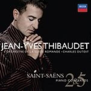 Concerti per pianoforte n.2, n.5 - CD Audio di Camille Saint-Saëns,Charles Dutoit,Jean-Yves Thibaudet,Orchestre de la Suisse Romande