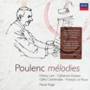 CD Mélodies di Francis Poulenc