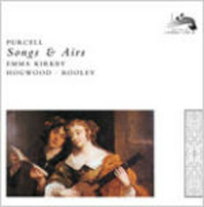 CD Songs and Arias di Henry Purcell