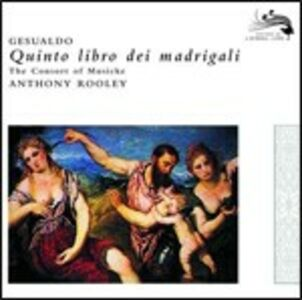 CD Madrigali libro V di Carlo Gesualdo