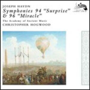 CD Sinfonie n.94, n.96 di Franz Joseph Haydn
