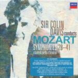 CD Ultime sinfonie di Wolfgang Amadeus Mozart