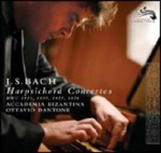 Concerti per clavicembalo BWV1053, BWV1055, BWV1056, BWV1052 - CD Audio di Johann Sebastian Bach,Ottavio Dantone,Accademia Bizantina