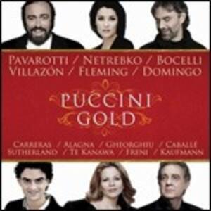 Puccini Gold - CD Audio di Giacomo Puccini