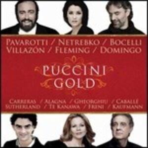 CD Puccini Gold di Giacomo Puccini