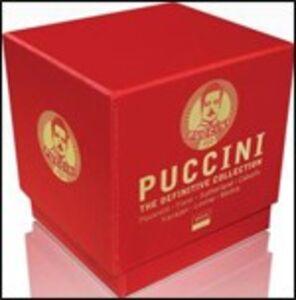 CD Definitive Collection di Giacomo Puccini