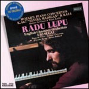 CD Concerti per pianoforte n.12, n.21 di Wolfgang Amadeus Mozart