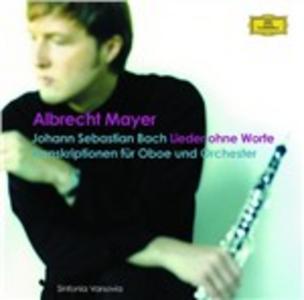 CD Lieder ohne Worte di Johann Sebastian Bach