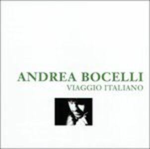 Foto Cover di Viaggio Italiano, CD di Andrea Bocelli, prodotto da Import