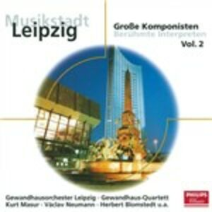 Foto Cover di Musikstadt Leipzig vol.2, CD di  prodotto da Philips