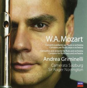 CD Opere per flauto e orchestra di Wolfgang Amadeus Mozart