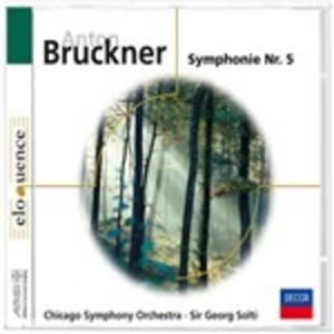 CD Sinfonia N.5 di Anton Bruckner