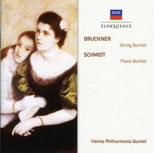 Quintetto per Archi - CD Audio di Anton Bruckner