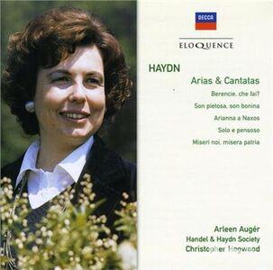 CD Cantatas & Arias di Franz Joseph Haydn
