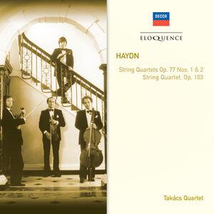 CD Quartetti per Archi op.77 1&2 di Franz Joseph Haydn