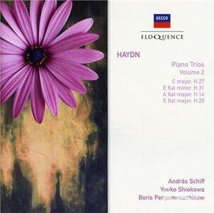 Foto Cover di Trii con Pianoforte vol.2, CD di Franz Joseph Haydn, prodotto da Eloquence