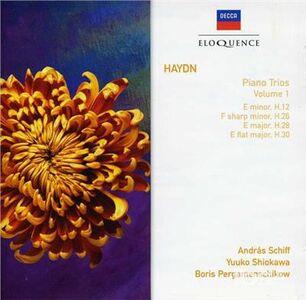 Foto Cover di Trii con Pianoforte vol.1, CD di Franz Joseph Haydn, prodotto da Eloquence