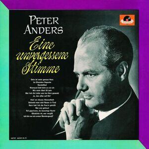 Foto Cover di Eine Unvergessene Stimme, CD di Peter Anders, prodotto da Polydor