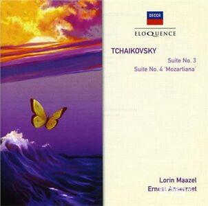 CD Suites n.3 & 4 di Pyotr Il'yich Tchaikovsky