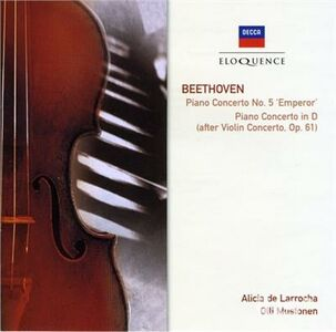 CD Concerto per Pianoforte No. 5 di Ludwig van Beethoven