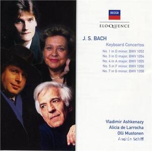 Keyboard Concertos - CD Audio di Johann Sebastian Bach