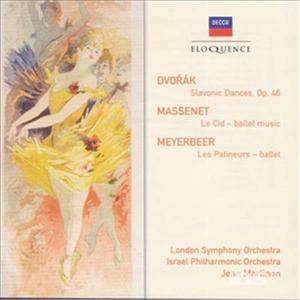 CD Slavonic Dances op.46 di Antonin Dvorak
