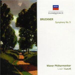 Foto Cover di Sinfonia n.5, CD di Anton Bruckner, prodotto da Eloquence