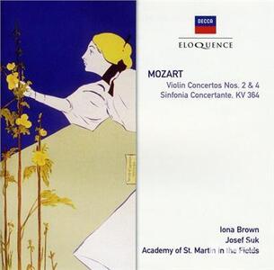 Concerti per Violino N.2, N.4 - CD Audio di Wolfgang Amadeus Mozart