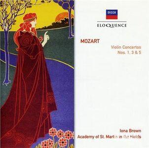 CD Concerti per Violino N.1, N.3, N.5 di Wolfgang Amadeus Mozart
