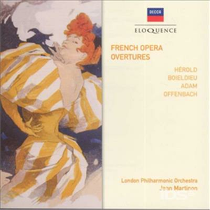 CD French Operetta Overtures
