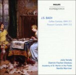 Coffee & Peasant Cantatas - CD Audio di Johann Sebastian Bach