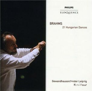 Foto Cover di Hungarian Dances, CD di Johannes Brahms, prodotto da Eloquence